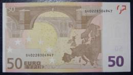 50 EURO Italy J065E5 Serie S  Perfect UNC - EURO