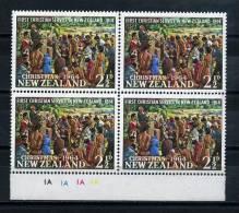 NEW  ZEALAND    1964      Christmas    Block  Of  4      MNH - Blocks & Sheetlets
