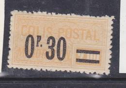 FRANCE COLIS POSTAUX N° 35 0F30 S 2F JAUNE TYPE MAJORATION SURCHARGE NEUF SANS CHARNIERE - Colis Postaux