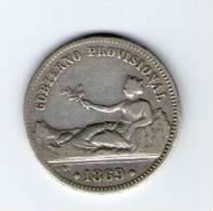 GOBIERNO PROVISIONAL 1 PESETA 1869     NL240 - [ 1] …-1931 : Reino