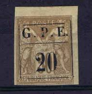Guadeloupe: Yv. I, Maury Cat Value €  90 Not Used - Guadalupe (1884-1947)