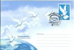 Moldova 2006 Post Day, Bird Bords Dove Doves Pigeon Pigeons Fauna - Moldova