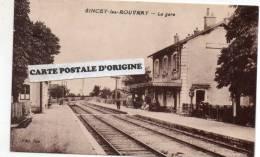 SINCEY LES ROUVRAY (COTE D'OR) - LA GARE - France