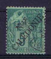 Nlle-Calédonie: Yv. 24  Used , Maury Cat Value € 20 - Nieuw-Caledonië