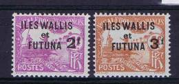 Wallis Et Futuna  Yv.  Timbre Tax 9 - 10  MH/*, Maury Cat Value € 50 - Timbres-taxe