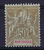 Martinique : Yv. Nr 49  Not Used (*),  Maury Cat Value €  52 - Nuovi