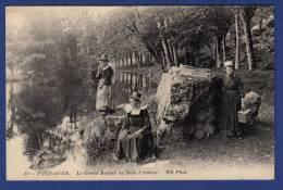 29 PONT AVEN Grand Rocher Au Bois D'Amour - Animée - Pont Aven