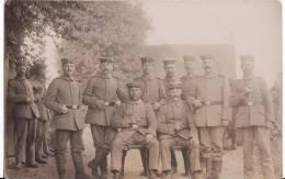Carte Postale Photo Militaire Allemand- MAGDEBURG- KRIEG-Guerre1914-1918-Feldpost -Voir 2 Scans - - Magdeburg