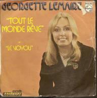 """45 Tours SP - GEORGETTE LEMAIRE  - PHILIPS 6009258   """" TOUT LE MONDE REVE  """" + 1 - Autres - Musique Française"""