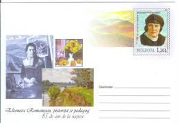Moldova 2011 Eleonora Romanescu Painter And Teacher - Moldova