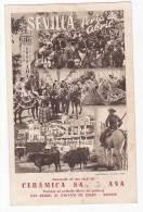 España Tarjeta Postal Publicitaria Fabrica De Azulejos Tile Advertising  Ca1900 Original Postcard Cpa Ak (W3_699) - Publicidad