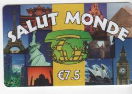 SALUT MONDE - € 7.5 - Frankrijk