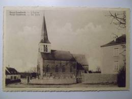 Cpa Borgt Lombeek L'eglise - Borgt Lombeek De Kerk - BE01 - Ath