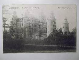 Cpa Vorsselaer Het Kasteel Van De Werve - Belgique Vue Rare 1909 - BE01 - Vosselaar