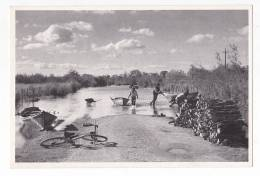 Uruguay Modern Artist Real Photo Flood Postcard Original Ca 1990 Cpa Ak (W3_743) - Inundaciones