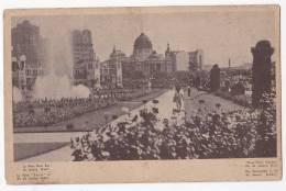 Brazil Rio De Janeiro Plaza Paris  Postcard Original Ca 1920 Cpa Ak (W3_745) - Rio De Janeiro