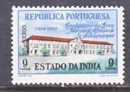 Portuguese India 531   *  SCHOOL - Portuguese India