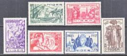 Niger  77-82    *  PARIS WORLD FAIR - Niger (1921-1944)