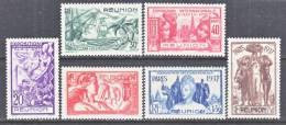 Reunion Island  167-72    * PARIS  WORLD  FAIR - Reunion Island (1852-1975)