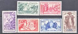 St. Pierre And Miquelon  165-70     * PARIS  WORLD  FAIR - Unused Stamps