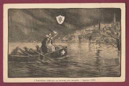 CROIX ROUGE - 041212 -  L'Infirmiere Visiteuse Au Secours Des Inondés Janvier 1926 - BELGIQUE - Croix-Rouge