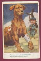 CROIX ROUGE - 041212 -  Illustrateur MAC - Chien Croix Rouge - Croix-Rouge