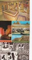 Egypt 6 Postcards  # 61 # - 5 - 99 Postcards