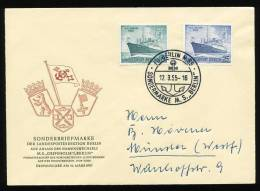 Berlin 126/7 Auf FDC - Briefe U. Dokumente