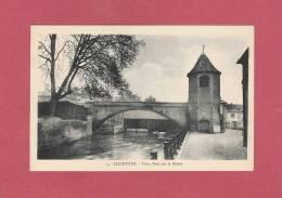 *  CPA..( 67 )..HAGUENAU : Vieux Pont Sur La Moder..n° 5 - Haguenau