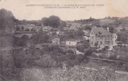 ¤¤  -   ARGENTON-CHATEAU  -  Les Deux Ponts Cadoré Sur L'Ouëre Affluent De L'Argenton  -  ¤¤ - Argenton Chateau