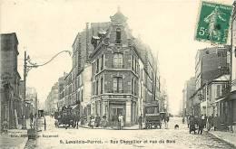 Levallois Perret : Rue Chevallier Et Rue Du Bois. Voiture COTTY Expéditeur De Colis Postaux. 3 Scans. Edition Bourdais - Levallois Perret