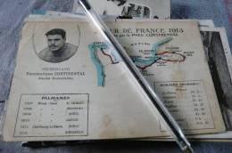 Tour De France 1913 éditée Pneu Continental - Ciclismo