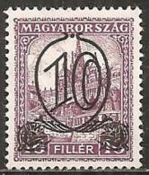 Ungheria 1930 MNH**  -  Yv. 437A   Dent. 15 - Ungheria