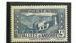 ANDORRA ESTE SELL O SIMILAR  DEL CORREO FRANCES +++  SIN  FIJASELLOS YVERT Nº  89 - French Andorra