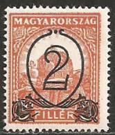 Ungheria 1930 MNH**  -  Yv. 433A   Dent. 15 - Ungheria