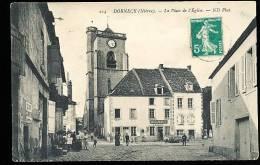 58 DORNECY / La Place De L'Eglise / - Autres Communes