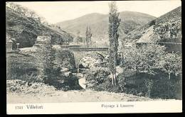 48 VILLEFORT / Paysage à Lasserre / - Villefort