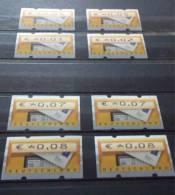 BRD ATM5 Mit 8 Zählnummer-Varianten, Postfrisch - [7] République Fédérale