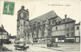 SEZANNE - L'EGLISE. SCAN R/V - Sezanne