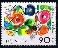 Schweiz 1988, Michel # 1380 O Zeitgenössische Kunst - Gebraucht