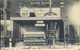 TOURNAI  USINE MEURA TOURNAI   -    EXPO BRUXELLES 1910 - SALLE DE BRASSAGE MEURA ... - Doornik