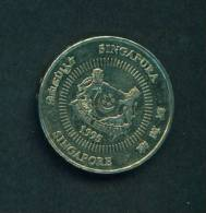 SINGAPORE  -  1995  50 Cents  Circulated As Scan - Singapore
