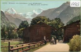 Strasse Von Interlaken Nach Wilderswil ,non Circulé - BE Berne