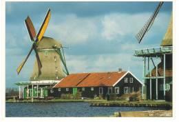 """Nederland/Holland, Zaanse Schans, Oliemolen """"De Zoeker"""", Ca. 1980 - Zaanstreek"""