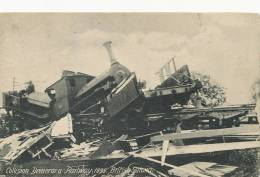 Guyana Guyane Collision Demerara Railway 1895 British Guiana Train Accident - Postcards