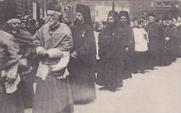 RELIGIOUS CONGRESS -GROUP OF GREEK PRIESTS. THE GREAT PROCESSION - Religions & Beliefs