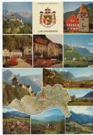 Liechtenstein 8 Postcards 2 Used - Liechtenstein