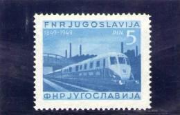 YOUGOSLAVIE 1949 ** - Non Classés
