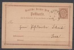 D.R.P1,mit Nachverw.Thurn+Taxis-o,Gotha (3015) - Deutschland