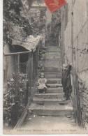PARIS ( Vieux Montmartre.escalier Dans Le Maquis ) - Distretto: 18